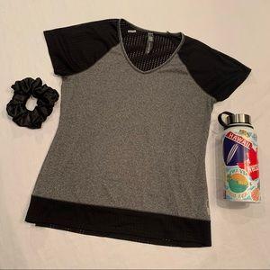 RBX active wear raglan top